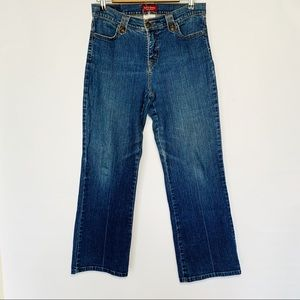 Levi's Perfectly Slimming Bootcut Dark Wash Jeans